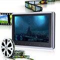 Pantalla Digital de 10 pulgadas TFT LCD Reposacabezas Monitor Del Coche DVD/USB/SD del Jugador Construir-en IR/FM/Altavoz Con El Disco Del Juego HDMI de Entrada