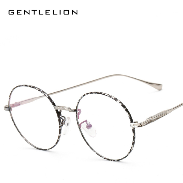 4e42e99728 2017 Glasses Frame Retro Full Rim Gold Eyeglass Frame Vintage Spectacles  Round Computer Glasses Unisex 3019