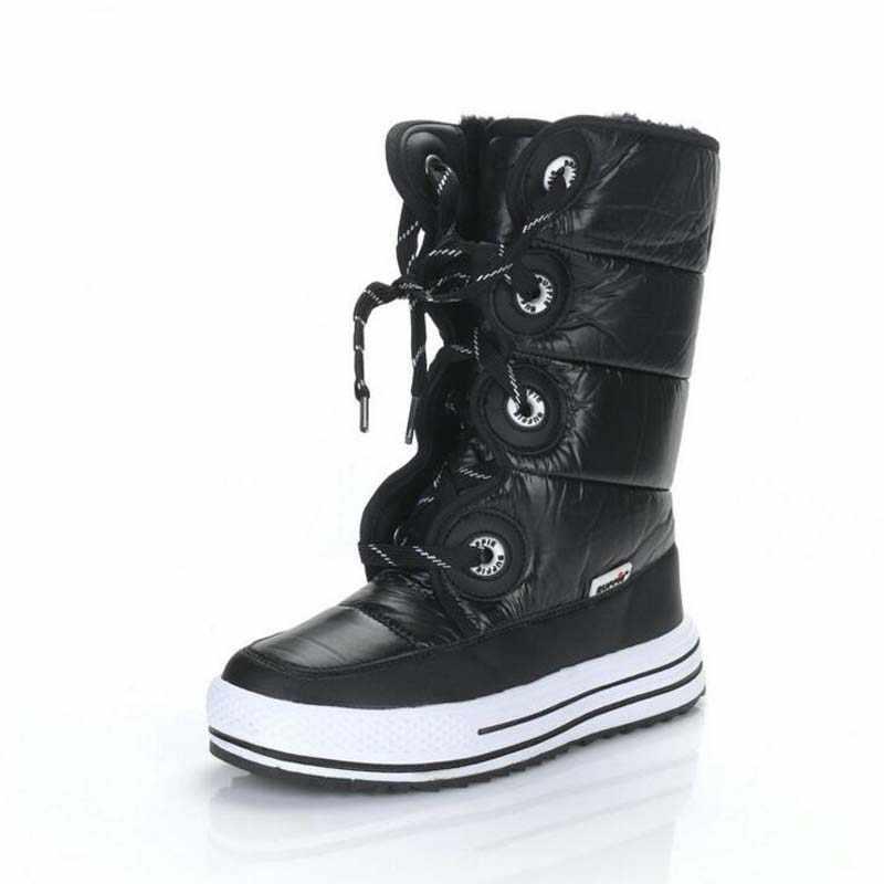 2018 ファッション女性ブーツヨーロッパスタイルのための大人の高品質ラバーブーツ防水女性豪華なロングブーツサイズ 36-41