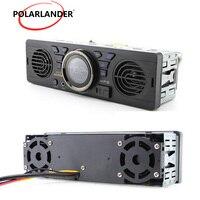 12V car FM USB SD AUX IN audio stereo AV252 radio built in 2 speakers Bluetooth handfree in dash MP3 player