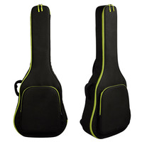 40 41 Thicken Folk Guitar Cases Acoustic Guitar Double Straps Padded Guitar Soft Case Gig Bag