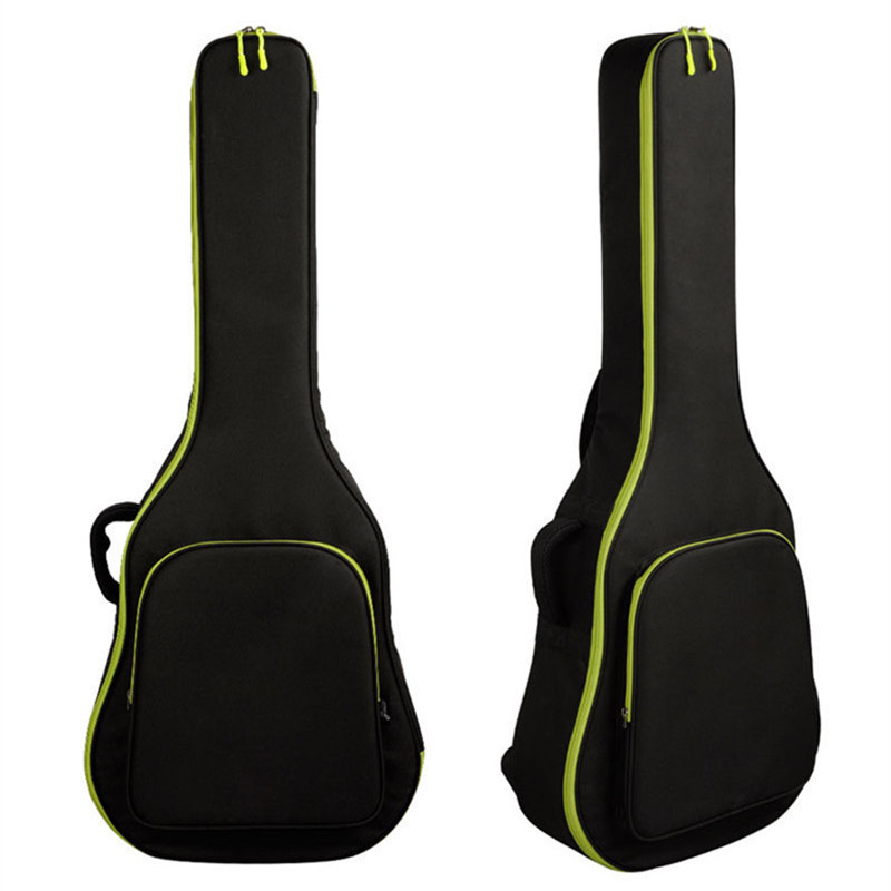 40/41 Thicken folk guitar cases Acoustic Guitar Double Straps Padded Guitar Soft Case Gig Bag Backpack High Quality Waterproof waterproof thicken 11 5 mm electric guitar bag case backpack guitarra accessories parts colorful cloth carry gig