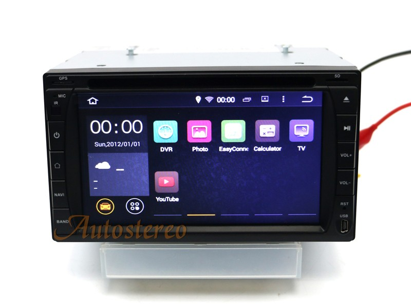 6.2 inch QUAD CORE Android 7.1 car dvd player multimedia GPS Head UNIT NAV SAT 173*98