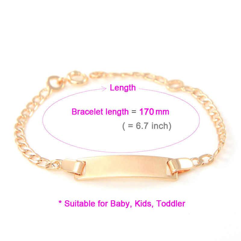 383f1632e002 ... BESARTE Baby Bracelets Bebe Pulseras Kids Jewelry Bracelete Pulseira  Ouro Bracciali Bracelet Bangle Brazaletes Armbanden B0537N