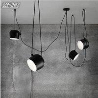 Loft Nordic design pendant lights fixtures modern led dining room home decor industrial hanging lamp