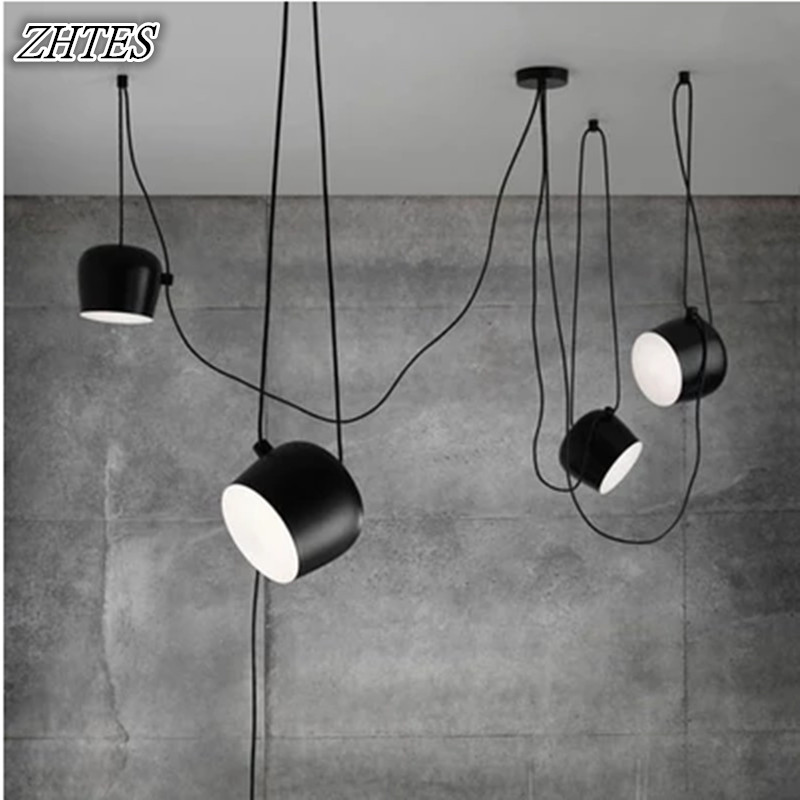 Loft Nordic Design Pendant Lights Fixtures Modern Led Dining Room Home Decor Industrial Hanging Lamp