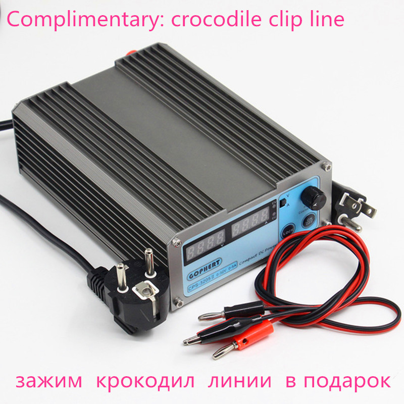 Hot sale Gophert CPS-3205II DC Switching Power Supply Single Output 0-32V 0-5A 160W adjustable cps 6011 60v 11a dc power supply laboratory power supply 110v