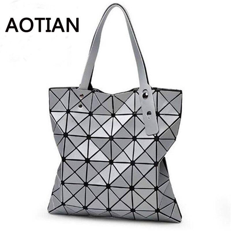 bd44083ac33 Bao Women Bag Phone Bag Case 2018 Most Popular Handbag Shopping Shoulder  Tote Geometric Folding bags bolsa feminina
