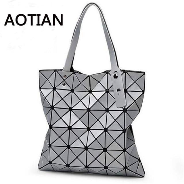 Baobao Women Bag Phone Bag Case 2017 Most Popular Handbag Shopping Shoulder Geometric Folding Package bolsa feminina Bao Bao