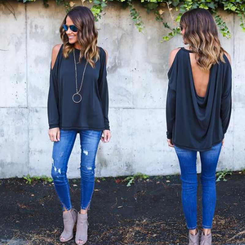 Sexy Blouse Out Hollow 8