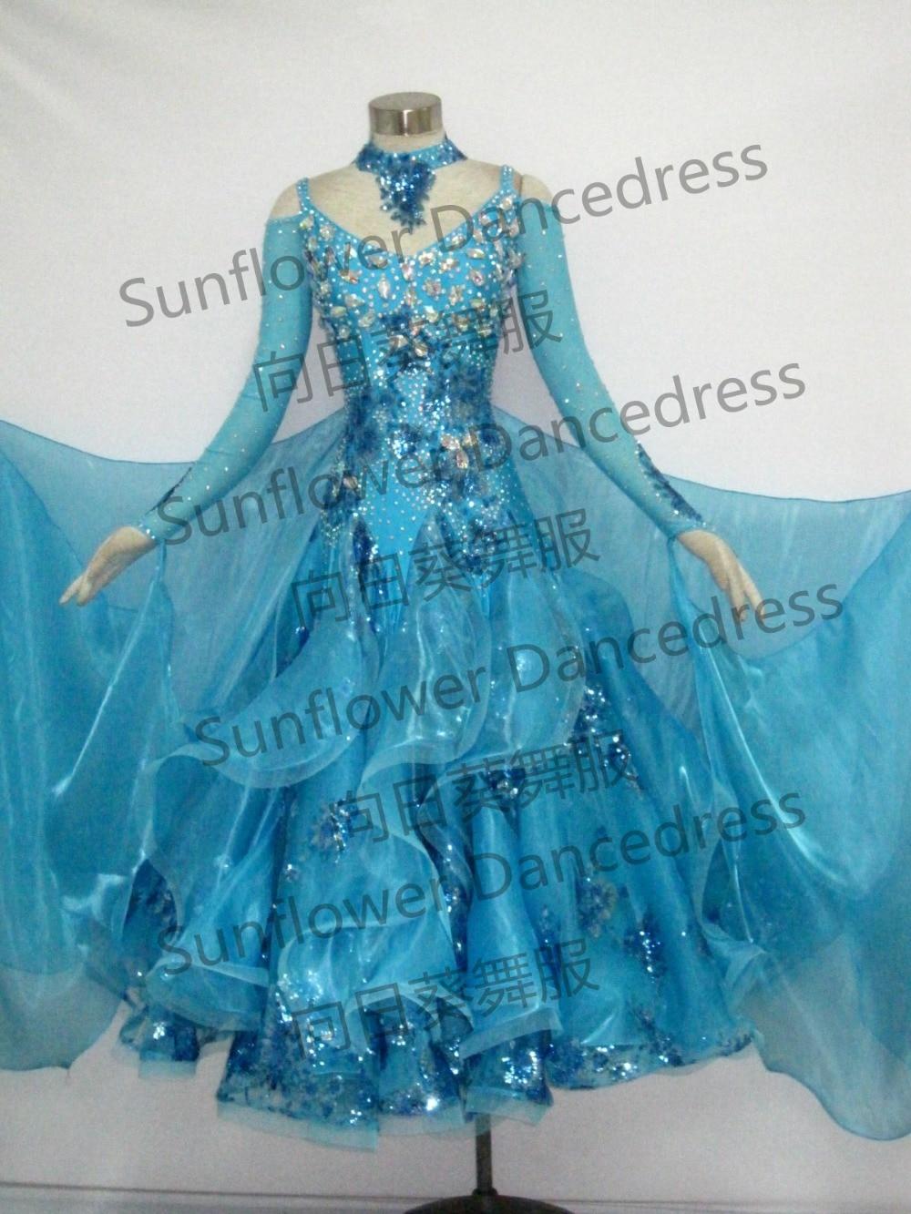 Valse de danse robe organza salle de bal de danse Norme porter, stade salle de bal robe, salle de bal robe