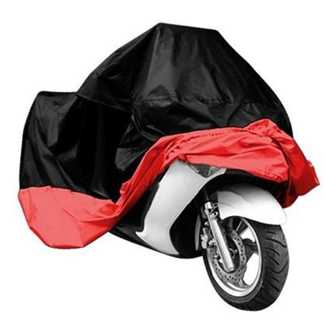 XXL Large Size Motorcycle Cover Outdoorr Rain UV Resistant Dust Prevention Dustproof Covering Touring Scooter Bike For Suzuki