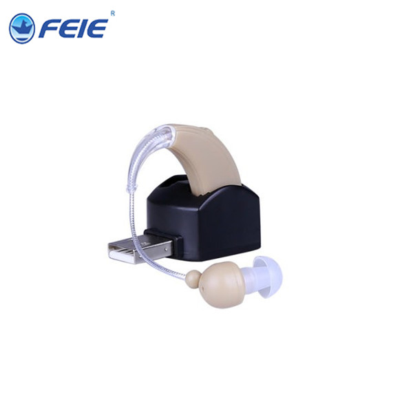 Rechargeable ear hearing aid mini device sordos ear amplifier medical hearing aids S-109 for elderly apparecchio acustico rechargeable hearing aid bte hearing aids for the elderly deaf old ear hearing device better value than siemens hearing aid