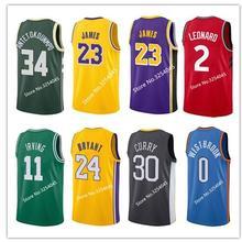 207896fae LeBron James Kobe Bryant Kyrie Irving Giannis Antetokounmpo Kawhi Leonard  Stephen Curry Russell Westbrook Youth shirt