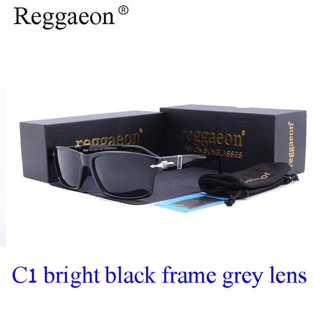 0eb52798b58 reggaeon 2018 brand Vintage Men Polarized Driving Sunglasses Mission  Impossible Tom Cruise James Bond Style hot