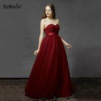 Свадебное платье ES простой бордовый белый красный Тюль бретелек длина до пола свадебное платье 2016 бисером Винтаж свадебные платья