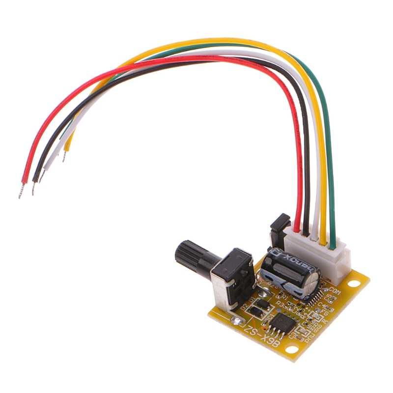 DC 5 V-12 V 2A 15W Brushless Motor Speed Controller Tidak Hall BLDC Driver Papan