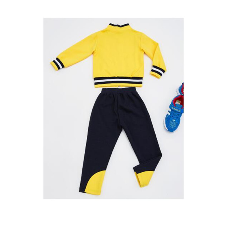 2018 Fashion Boys Girls Clothing Sets Autumn Winter Kids Boys Sports Suit School Uniform Children Jacket Pants Tracksuits 3-8T