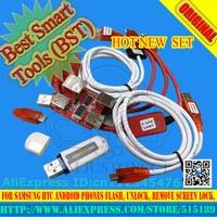 Gsmjustoncct BST dongle pour HTC SAMSUNG xiaomi oppo vivo déverrouiller l'écran S6 S7 serrure réparation IMEI date d'enregistrement Meilleur outil Intelligent dongle