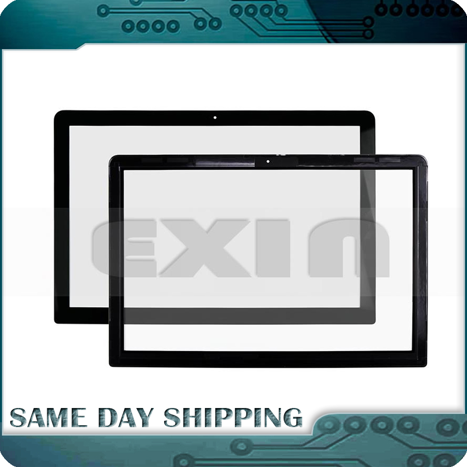 New Front LCD A1278 Glass Cover for MacBook Pro Unibody 13 A1278 Display Glass with Adhesive Tape 2008 2009 2010 2011 2012 Year