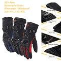 2016 Зимой На Открытом Воздухе Перчатки Мотоцикла Motorcross Улице От Стержня Велосипед Перчатки Сенсорный Экран Водонепроницаемый Ветрозащитный guantes moto