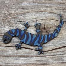 Gecko Anti-body Key Opener Titanium Alloy Knife Beads Paracord Umbrella Rope Outdoor EDC Fall Pendant Multi Tools