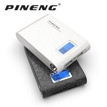 Pineng Мощность Bank 10000 мАч внешний Батарея Портативный мобильный фаст Зарядное устройство Dual USB ЖК-дисплей Мощность Bank для iPhone Samsung LG HTC Xiaomi