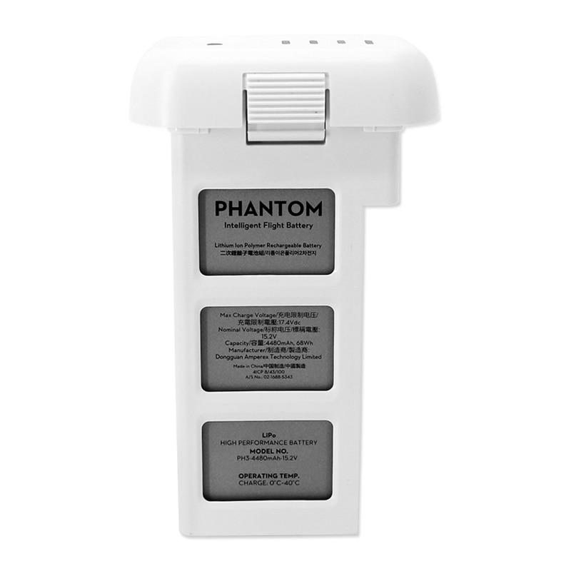 Original DJI Phantom 3 Professional Advanced Drone Intelligent Flight Battery 4480mAh 15.2V LiPo4s High Capacity batteria for P3 цена