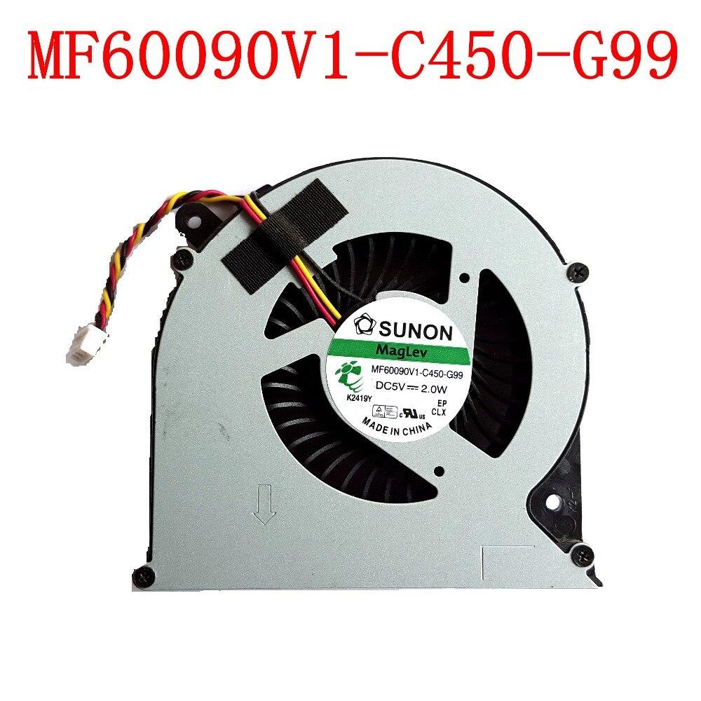 NEW Original SUNON MF60090V1-C450-G99 3PIN for Toshiba C850 C855 C870 C875 L850 L870 L850D L870D Laptops Cooling Fan new h000041510 laptop motherboard for toshiba satellite c870 l870 17 3 7610m hd4000 ddr