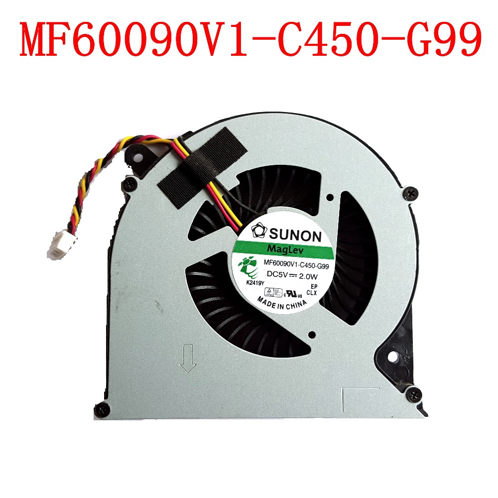 NEW Original SUNON MF60090V1-C450-G99 3PIN for Toshiba C850 C855 C870 C875 L850 L870 L850D L870D Laptops Cooling Fan image