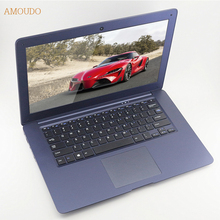 Amoudo-6C 14inch 1920*1080P FHD 4GB RAM+750GB HDD Quad Core Windows 7/10 System Ultrathin Laptop Notebook Computer,free shipping