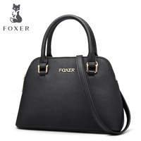 FOXER Brand Women S Leather Handbag Luxury Crossbody Bag Women New Handbags Female Bag Lady Bag