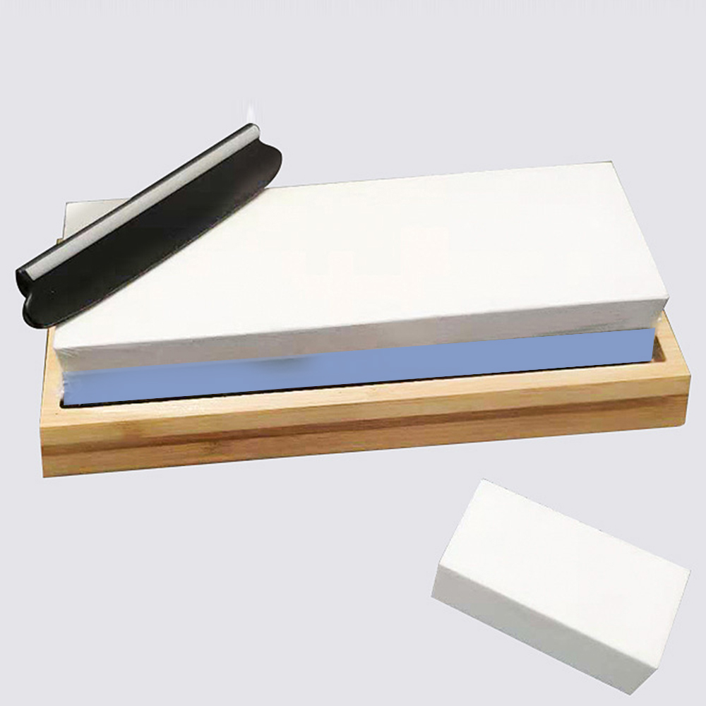 <font><b>1000/6000</b></font> Grit Knife Sharpening Stone Grinding Stone <font><b>Whetstone</b></font> Water for Knife Kitchen Tools Double-sided Sharpening Stone image
