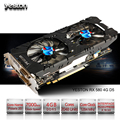 Yeston Radeon RX 580 GPU 4 ГБ GDDR5 256bit игровой настольный компьютер ПК видеокарты Поддержка сигнала от DVI/HDMI PCI-E X16 3,0