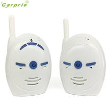 2017 New Portable 2.4 GHz Digital Audio Baby Monitor Nanny Baby Sitter Sensitive Transmission Two Way Talk Crystal Clear UK Mar2