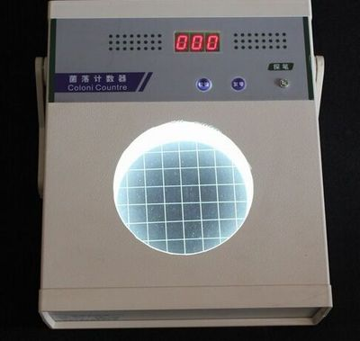 XK97-A Colony counter Digital display Semi-automatic Bacteria Test Instruments Bacteria quantity Tester Counter capacity 0-999