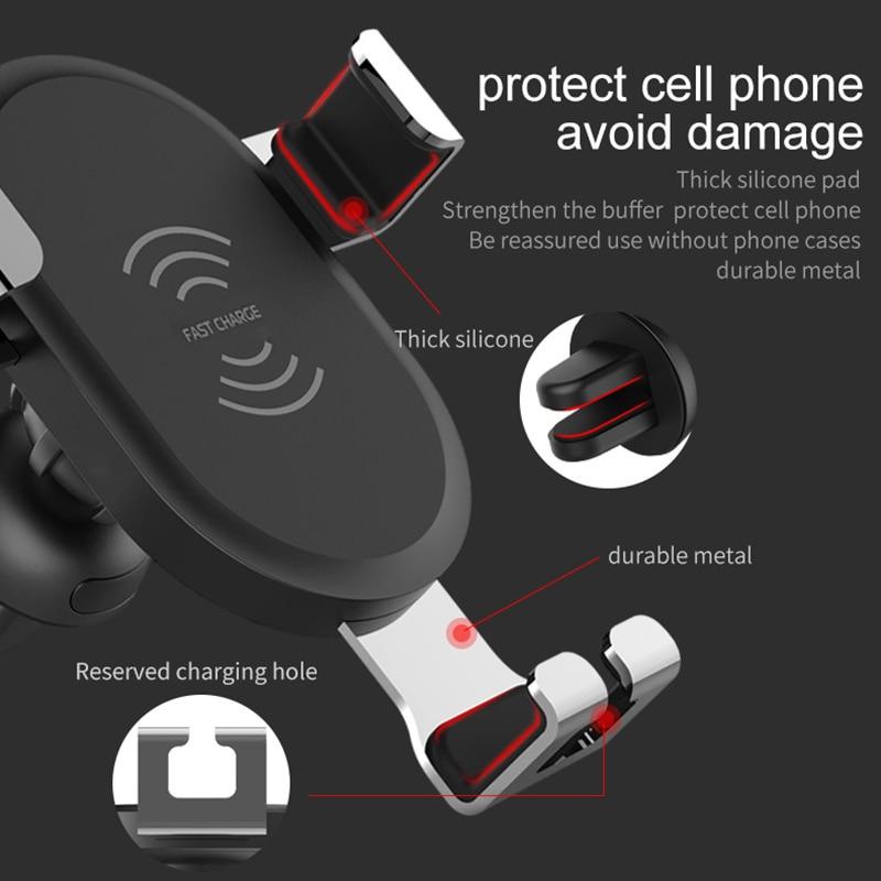 İPhone XS Max XR X 8 Plus Samsung S9 S8 Qeyd üçün DCAE simsiz - Cib telefonu aksesuarları və hissələri - Fotoqrafiya 2