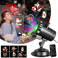 LED Projector Christmas Home Theater Projection Lamp Glowing Toy Night Lights Birthday Gift Party Surprise Projection Lamp