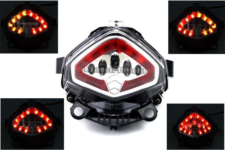 Para HONDA CB 400X CB500X 13-15 Luz Trasera LED Integrado Señales de Giro Blinke