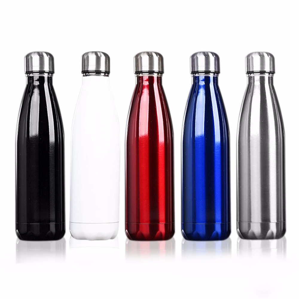 500ml bicycle Bottle Coffee Tea font b Bowling b font Insulated Stainless Steel Bottle Vacuum Flask