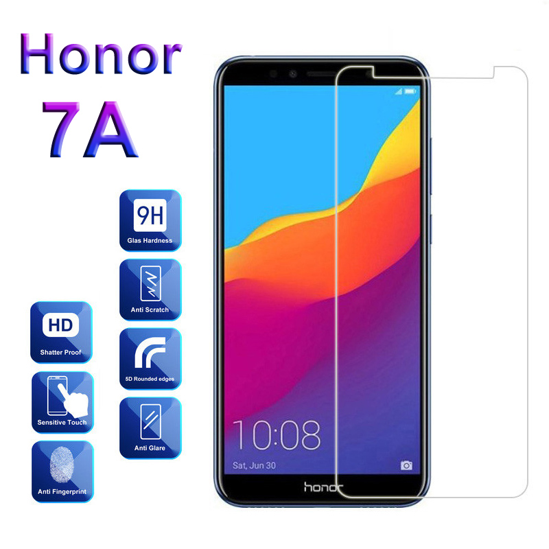 Glass For Huawei Honor 7A 7 A Pro Y6 Prime Pretective Tempered Glass On Honor 7A A7 Not Full Cover Screen Protector Safety Film