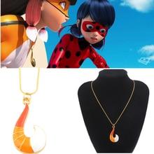 Anime Miraculous Ladybug Fox Volpina Alya Cosplay Pendant Ne