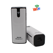 Free Shipping! 8S Mifi Wireless Portable Mobile Hotspot mini 3G Wifi Router power bank With Sim Card Slot
