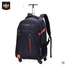 Мужская Дорожная сумка на колесиках, сумка на колесиках, рюкзак на колесиках для деловых поездок, сумка на колесиках, чемодан