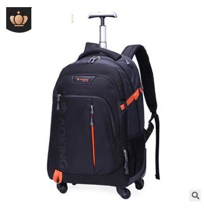 男性旅行トロリーバッグ荷物バックパックバッグホイールショベルリュックビジネスキャビン旅行トロリーバッグスーツケース  グループ上の スーツケース & バッグ からの 旅行バッグ の中 1