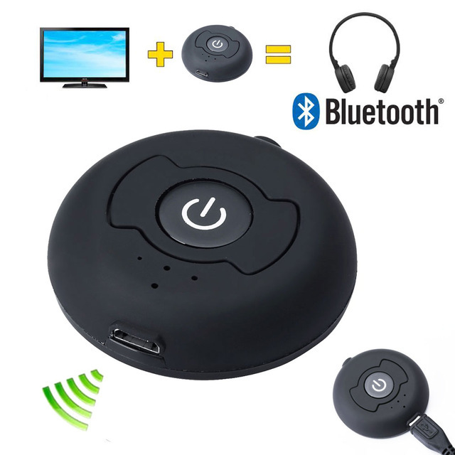 3.5mm Bluetooth Transmitter Multi-point Wireless Blutooth V4.0 Audio A2DP Stereo Dongle Adapter for TV PC Tablet MP3