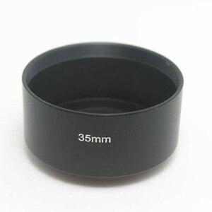 Image 4 - Fujian 35mm f/1.7 CCTV cine obiektyw do kamery M4/3/MFT Mount + pierścień pośredniczący c m4/3 kaptur do aparatów Olympus Panasonic Micro 4/3