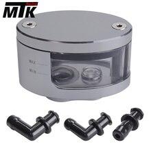 Motorcycle Brake Fluid oil Reservoir Cup tank & support bracket FOR kawasaki z750 z800 z1000 ER6F ER6N NINJA 300 250 z 800 750