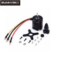 1 шт. Sunnysky x2820 800kv/920kv/1100kv бесщеточный Двигатель для Вертолет Drone FPV-системы Quadcopter Milti ротора