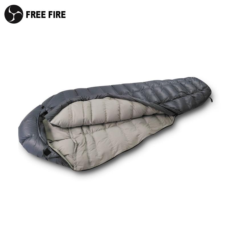 Ultraleve para baixo saco de dormir, inverno saco de dormir para baixo, acampamento saco de dormir inverno ultraleve saco de dormir